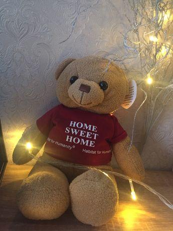 "Плюшевий мішка ""Home sweet home"""
