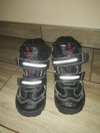Buty zimowe, chłopięce, rozmiar 25