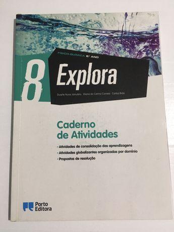 Caderno de actividades Explora8