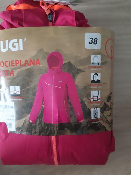 Nowa kurtka narciarska ocieplana dziewczęca rozmiar 146 / 152 cm Brugi