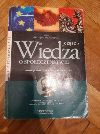 Podręcznik do wiedzy o społeczeństwie, zakres rozszerzony, część 2