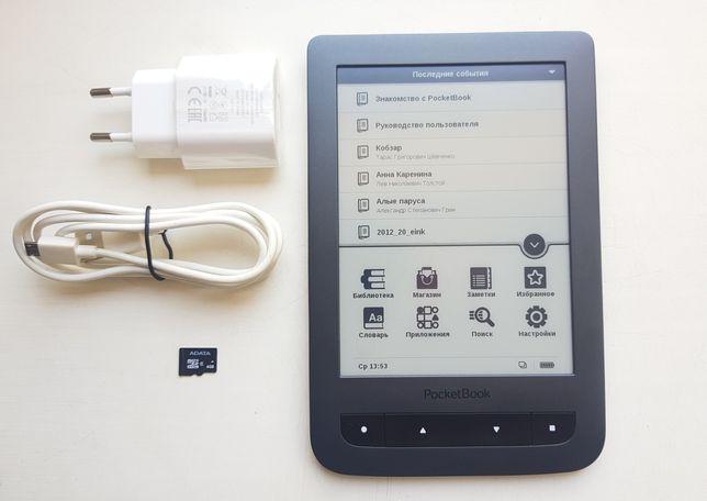 Электронная книга PocketBook Basic Touch (624) Grey гарантия 6 мес.