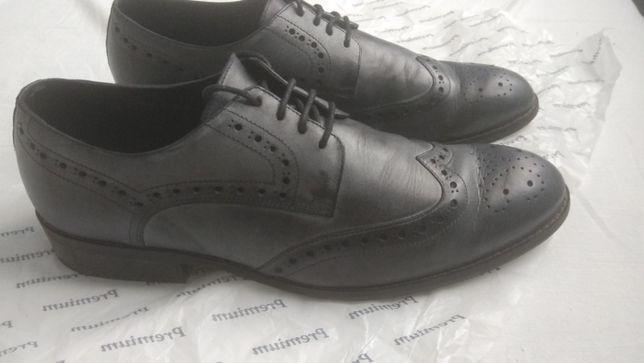 Мужские ботинки из натуральной кожи
