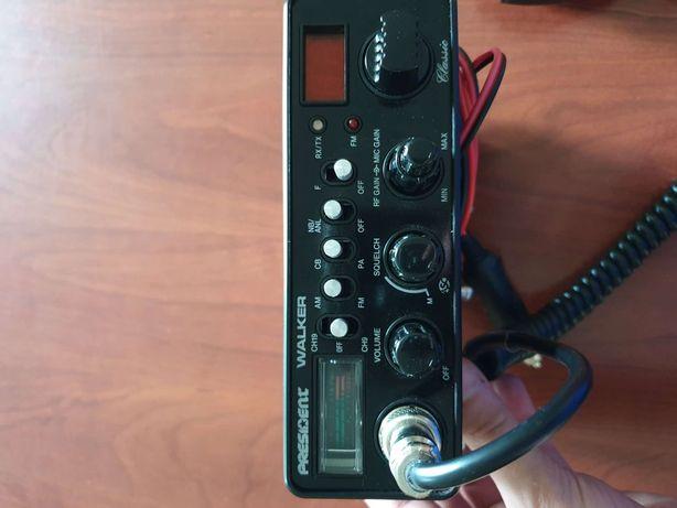 CB radio presiden Walker+antena