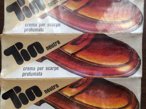 Крем для обуви итальянский Cavallino прозрачный 50ml