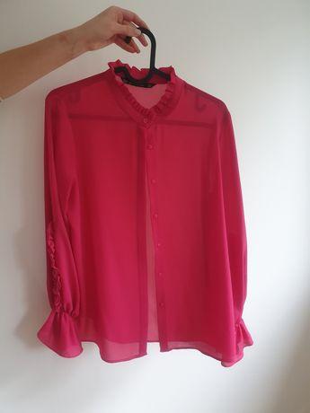Bluzka Zara w kolorze fuksji rozm XS