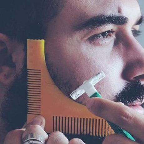 Pente aparador de barba (Depilação) - Presente de Natal Homem