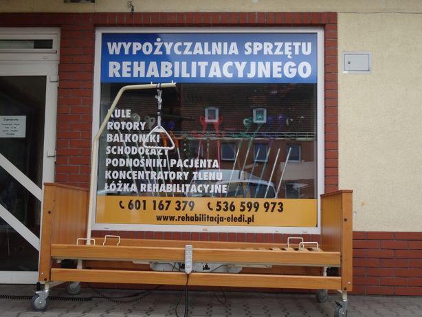 Łóżko rehabilitacyjne - WYPOŻYCZALNIA WYNAJEM - Kalisz