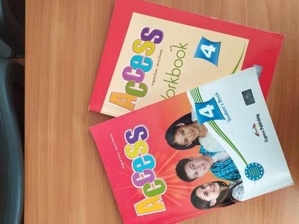 ACCESS 4 student's book work book