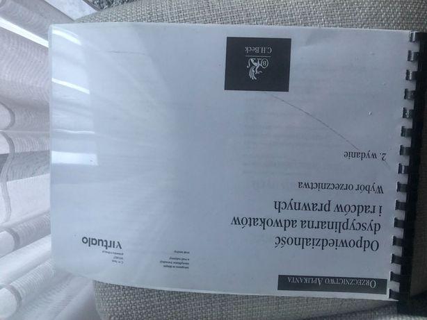 Orzecznictwo aplikanta - odpowiedzialność dyscyplinarna adwokatów...