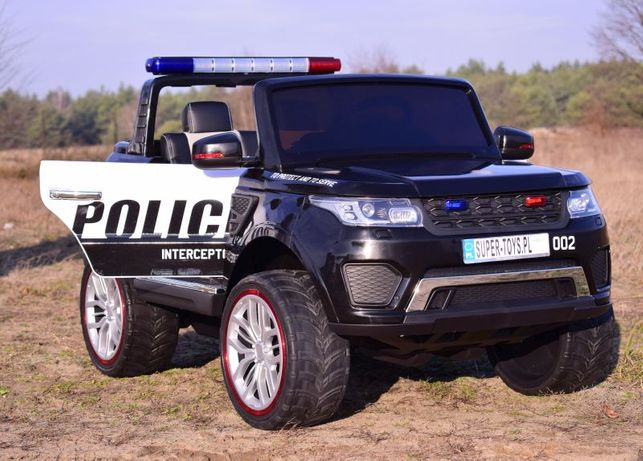 Wielkie DWUOSOBOWE auto na akumulator 4x4 POLICJA 4X4, 2x12V XMX-601