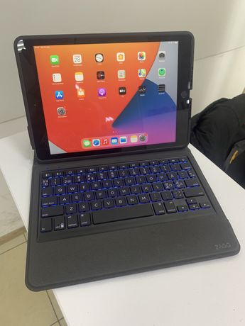 Чехол bluetooth клавиатура ZAGG ipad 7 2019 ipad 8 2020 10.2 10,2