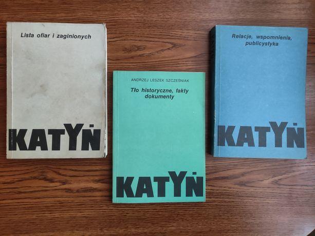 Katyń. 3 książki, Andrzej Leszek Szcześniak