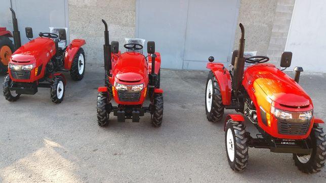 Трактора нові. Різні моделі. Доставка. Гарантія.