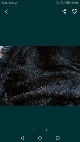 Ткань трикотаж стрейч с люриксом