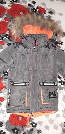 Продам зимову куртку на хлопчика