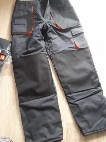 Nowe spodnie męskie ocieplane