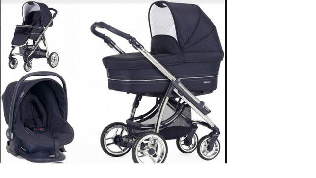 Trio Bébécar - Cadeira, Alcofa e Cadeira de automóvel