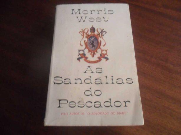 """""""As Sandálias do Pescador"""" de Morris West - 4ª Edição de 1966"""