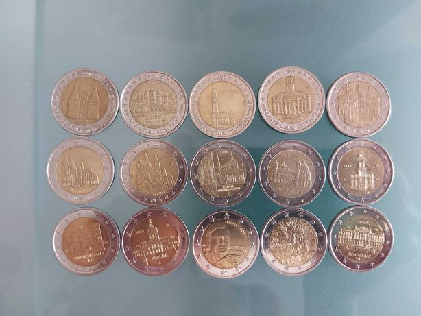 Moedas comemorativas de 2 euros