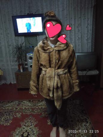 Шуба женская зимняя