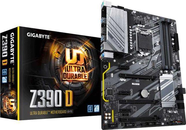 Gigabyte Z390 D (s1151, Intel Z390, PCI-Ex16)