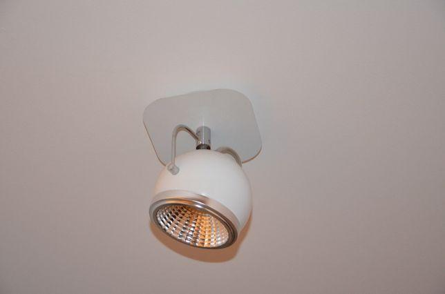 spot light 18 kinkiet BALL LED biały 50.09182