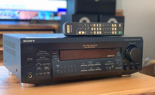 Amplituner SONY STR-DE425 RDS - kino domowe 5.1 - wzmacniacz