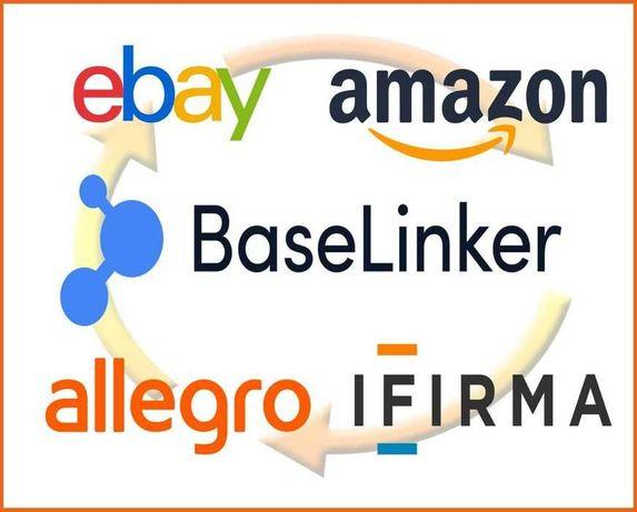 Masowe Wystawianie Aukcji Allegro Amazon Ebay Obsługa kont Reklama