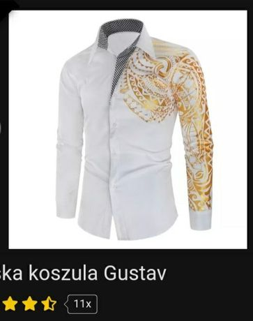 Nowa koszula Gustav