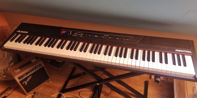 Pianino cyfrowe Alesis recital