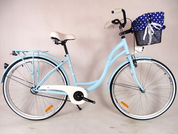 Rower Miejski city LADY 28'' błękitny