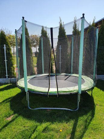 Trampolina ogrodowa 244cm używana