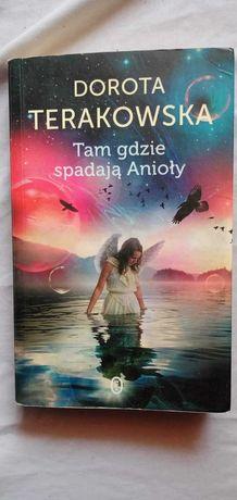 """Książka """" Tam gdzie spadają anioły """" Dorota Terakowska"""