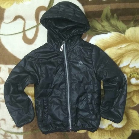 Демисезонная куртка унисекс, Zara, рост 98-110 см