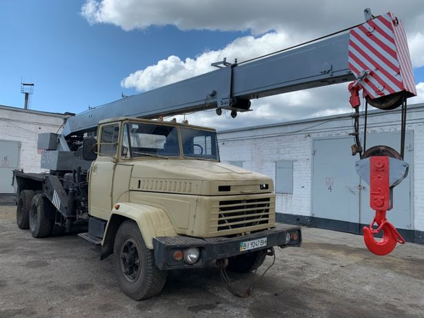 Автокран КС-3575А КрАЗ 250
