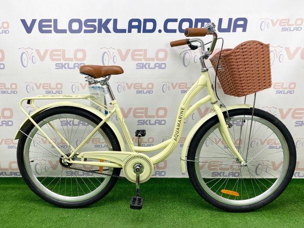 Велосипед Dorozhnik AQUAMARINE 26 кол рама 17 (бежевый)