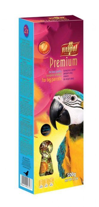 Vitapol VITAPOL Smakers Premium kolba dla dużych papug 1 sztuka Sanok Sanok - image 1