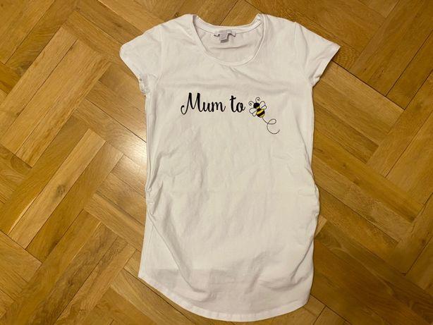 Nowa bluzka ciążowa t-shirt ciążowy Primark Maternity rozm. 38