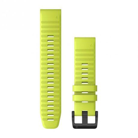Garmin Pasek Fenix 6 żółty - Quick Fit 22 mm, silikonowy Salon Selekt
