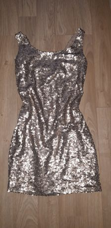 Sukienka cekiny 36 S