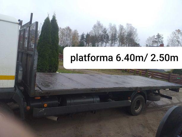 Pomoc drogowa platforma transport maszyn rolniczych