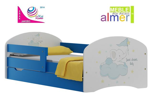 SWEET BABY 9 łóżko N20S + SZUFLADA 160/80