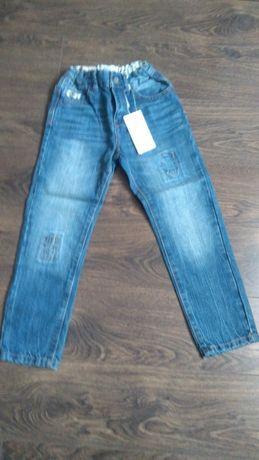 Reserved spodnie jeansowe nowe 122