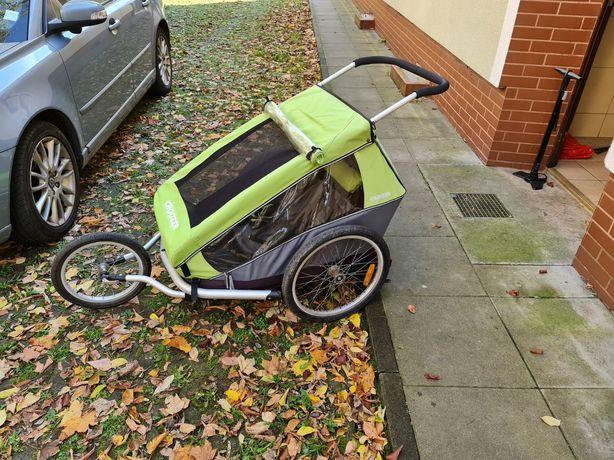 Croozer podwójny wózek do roweru