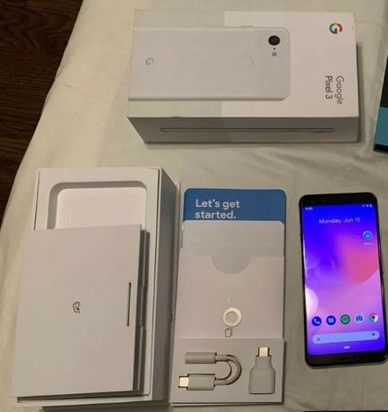 Google Pixel 3 (White) в ИДЕАЛЬНОМ сост. Оригинальная коробка. Из США