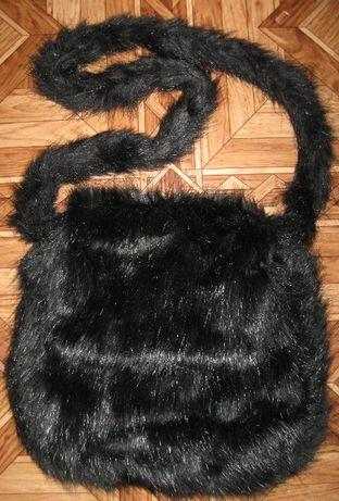 детская зимняя меховая сумочка