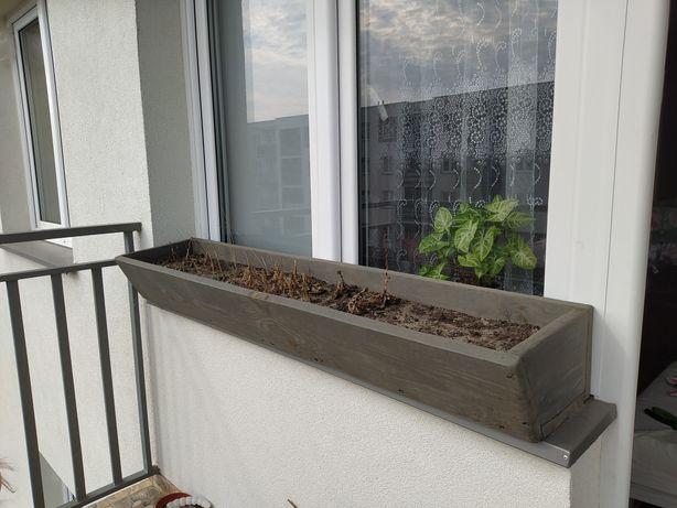 Skrzynia(donica) na warzywa na balkon