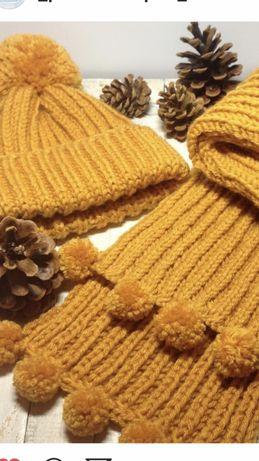 Набор:шапка и шарф
