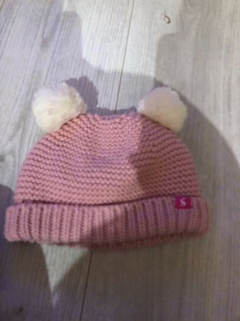 Zimowa czapeczka Miś